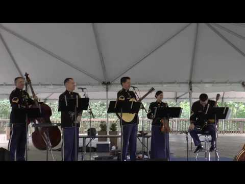 The United States Army Band, Bluegrass Combo, Wolf Trap National Park, Sep 24, 2016 [AGMSVD AG2568A]