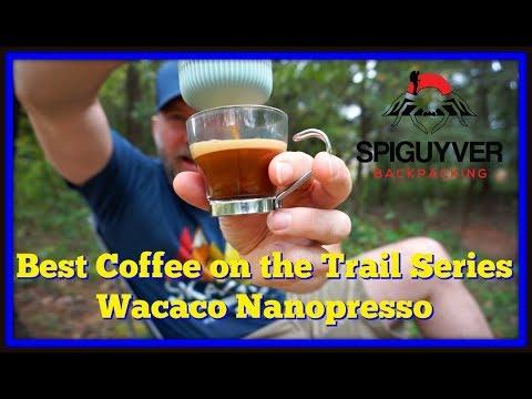 Best Coffee On The Trail Series - Wacaco Nanopresso