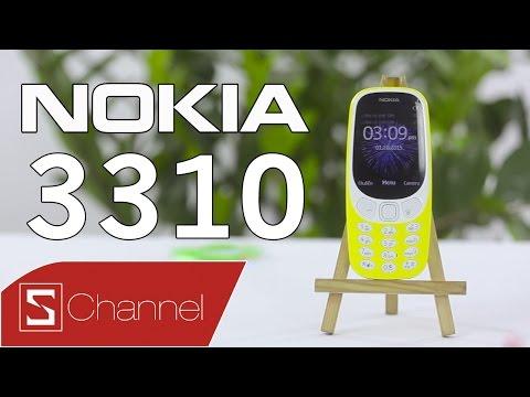 Schannel - Mở hộp Nokia 3310 phiên bản 2017: Huyền thoại sống lại!