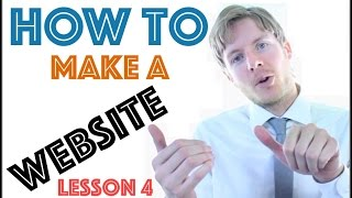 How To Make A Website With Wordpress - Add LOGO Lesson 4