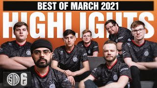THE BEST TSM RAIΝBOW SIX SIEGE MOMENTS OF MARCH! | TSM R6 HIGHLIGHTS