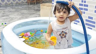 Kids Swimming Pool Family Fun Party | Swimming Songs for Toddlers