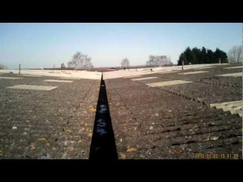 RG/320  survey via 4Kam in Somerset  old asbestos  roof with defects  RAGBAGROOFMAN