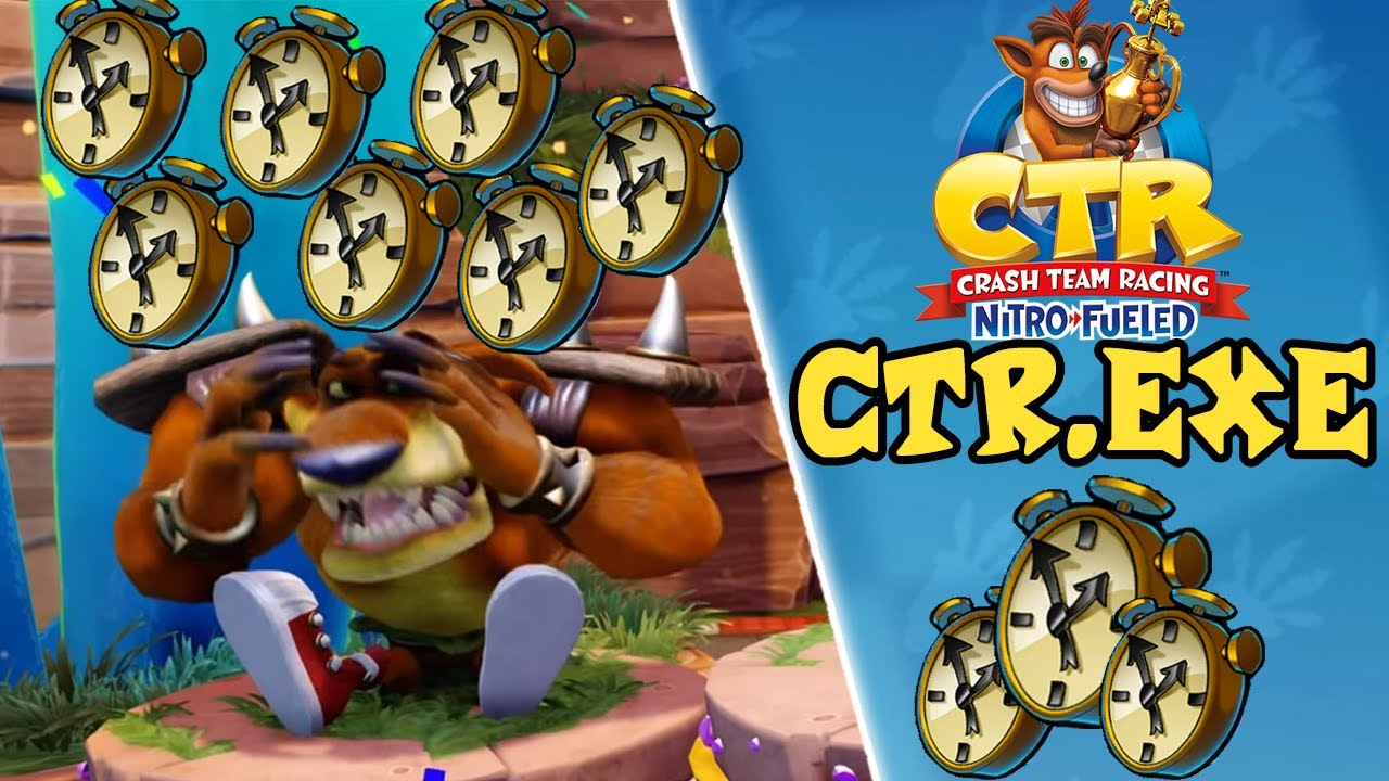 Download CTR Nitro Fueled - Funny and Lucky Moments