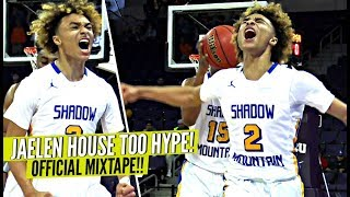 Jaelen House Is The MOST HYPE Player In High School!! OFFICIAL MIXTAPE!! SO MUCH HEART