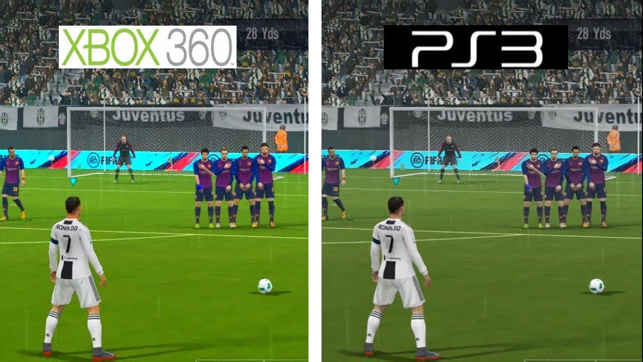 FIFA 19   Xbox 360 VS PS3   Graphics Comparison