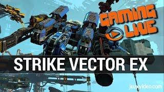 Strike Vector EX : GAMEPLAY - Le retour du shooter aérien sur PS4/ONE