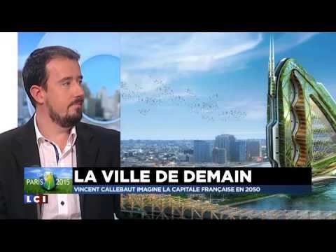 TF1 - #COP21 : des tours vertes en centre-ville, le futur de Paris ... Qu'en pensez-vous ?