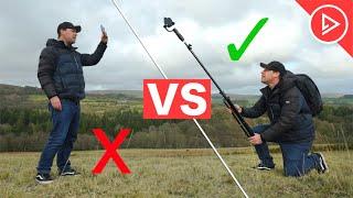 How To Shoot Smartphone B-ROLL | Beginner VS PRO Tutorial For Filmmakers