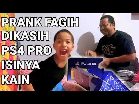 PRANK FAGIH DIKASIH PS4 PRO TERNYATA ISINYA KAIN DOANG