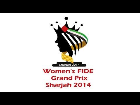 FIDE Women's Grand Prix 2014. Sharjah, UAE. Round 8.