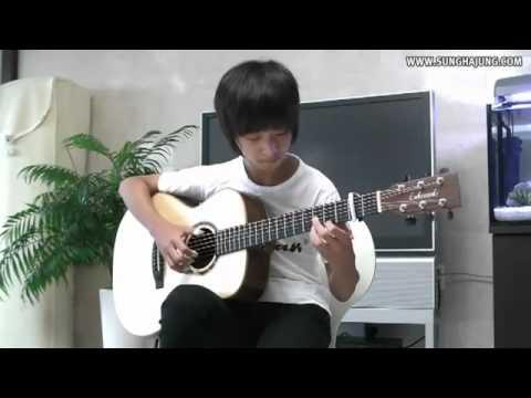 Музыка ангелов  на гитаре Моцарт ( Юрумов ) - Неизвестный исполнитель - полная версия