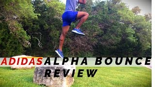 Desviarse vertical La Internet  Adidas Alpha Bounce Review | RUNNING SHOE PERFORMANCE - YouTube