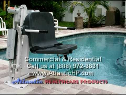 Pool Lift, Aquatic Access for Therapy in Florida by Atlantic Healthcare Products