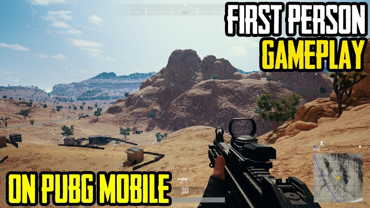First Person Mode In Pubg Mobile Fpp Mode Gameplay