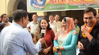 #lalitshokeen जबरदस्त interview मा और पत्नी ने खोले राज,अपने गांव दिचाऊं में पहुंचे दिखे भावुक
