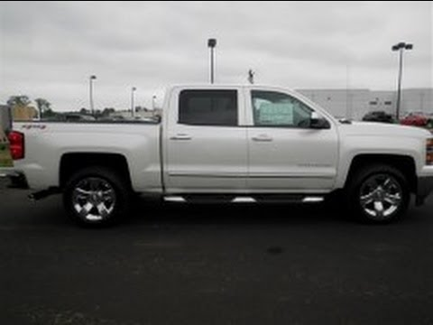 Chevy Silverado Texas Edition >> 2014 CHEVROLET ALL NEW SILVERADO 1500 CREW CAB 4X4 LTZ WHITE DIAMOND 5.3 V-8 ECOTECT WALKAROUND ...