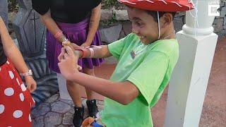 Boy Sobs at Walt Disney World When Mom's Husband Says He's Adopting Him thumbnail
