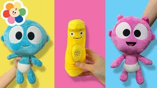 Finger Family Song   Color Crew & GooGoo GaaGaa Baby Toys for Children   Nursery Rhymes Compilation