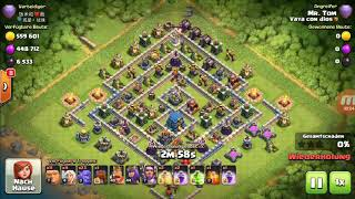 Clash of Clans Legende 5000+ TH11 vs TH12 max/+30🏆