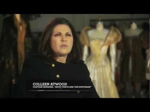 Charlize Theron Queen Ravenna - Costume Designer Colleen Atwood Interview