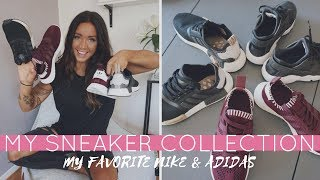 MY SNEAKER COLLECTION - Best Adidas & Nike shoes - HAUL