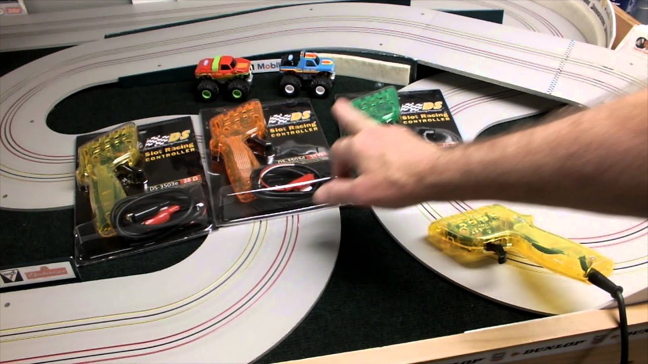 the new line of ds electronic racing products ho slot car controllers hc slots [ 1280 x 720 Pixel ]