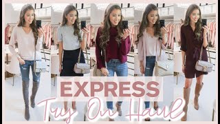 EXPRESS TRY ON HAUL FALL 2019