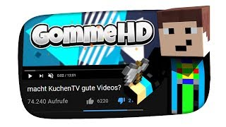 Gommes kindisches Statement - Kuchen Talks #347