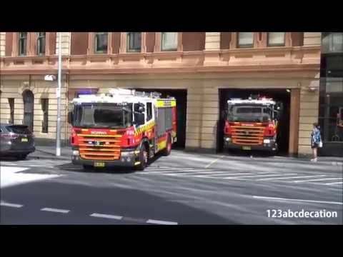Double Pump City Of Sydney Fire Rescue Nsw Youtube