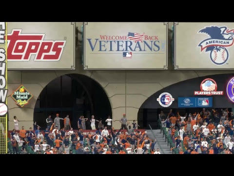 MLB The Show 17 2017 MLB WORLD SERIES Game 5 Houston ASTROS vs Los Angeles DODGERS A Preview