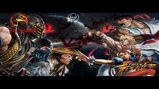 Street Fighter vs Mortal Kombat  (1080p) (MaximumGame)
