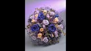 """Модные свадебные букеты и композиции от салона цветов """"Белая орхидея"""""""