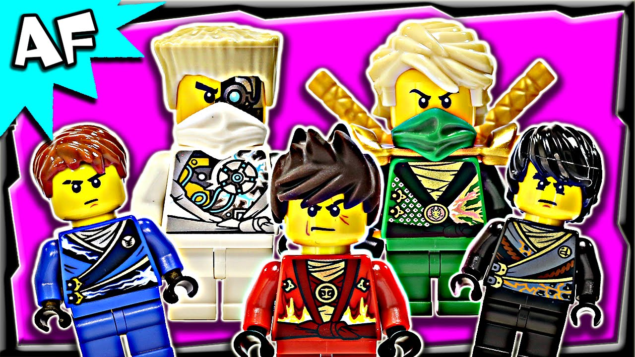 Lego Ninjago Minifigures 2014 Rebooted Nindroids Complete