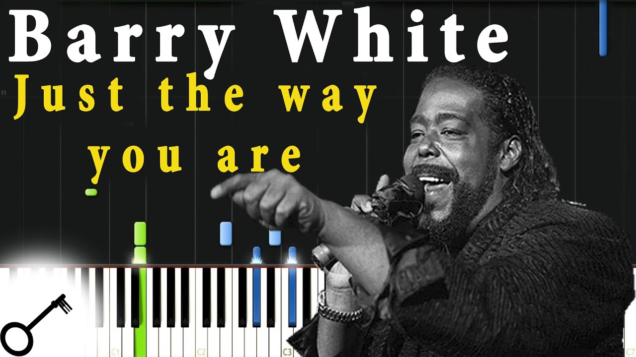 Barry White Just The Way You Are Piano Tutorial Synthesia