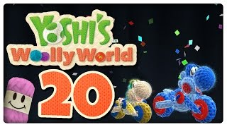 Let's Play YOSHI'S WOOLLY WORLD Part 20: Frostige Eiswelt