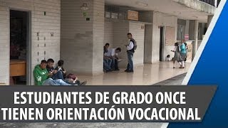 Estudiantes de Grado 11 Presentaron Test de Orientación Vocacional
