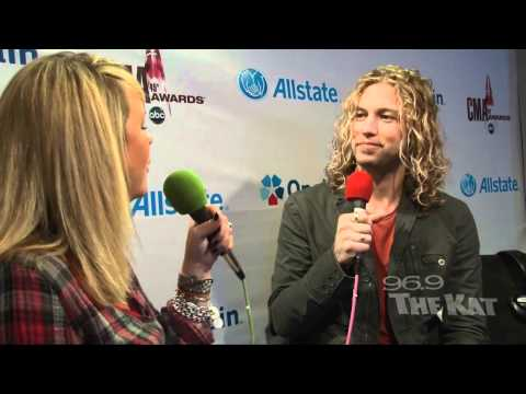 CMAs 2011 - Casey James Interview with 969 The Kat