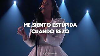 ANYONE - Demi Lovato // español (GRAMMYs Performance 2020)