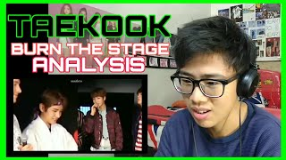 [REUPLOAD] TAEKOOK BURN THE STAGE, The Wings Tour 2017 REACTION
