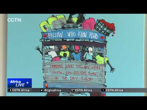 Nigerian entrepreneur showcases African art to U.S. buyers