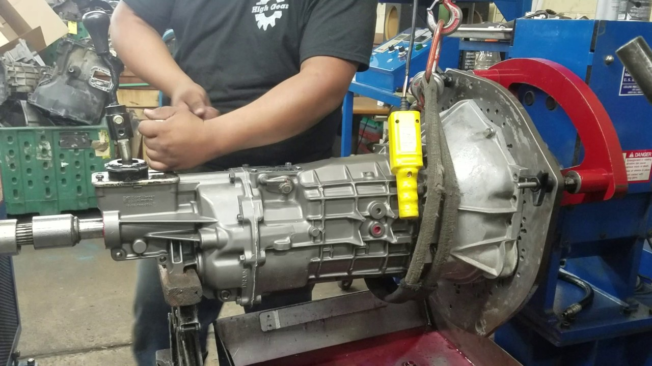 T56 Transmission Dyno Test
