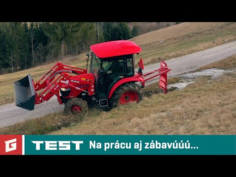 Branson 5025R/C 2,3D - TEST - kompaktny traktor - GARAZ.TV - YouTube