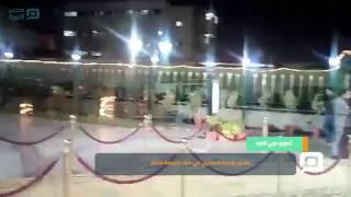 مصر العربية | بشرى وسما المصري في عزاء كريمة مختار