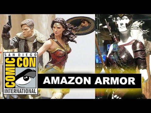 Comic Con 2016 Wonder Woman Costumes & Armor - Antiope, Hippolyta, Steve Trevor