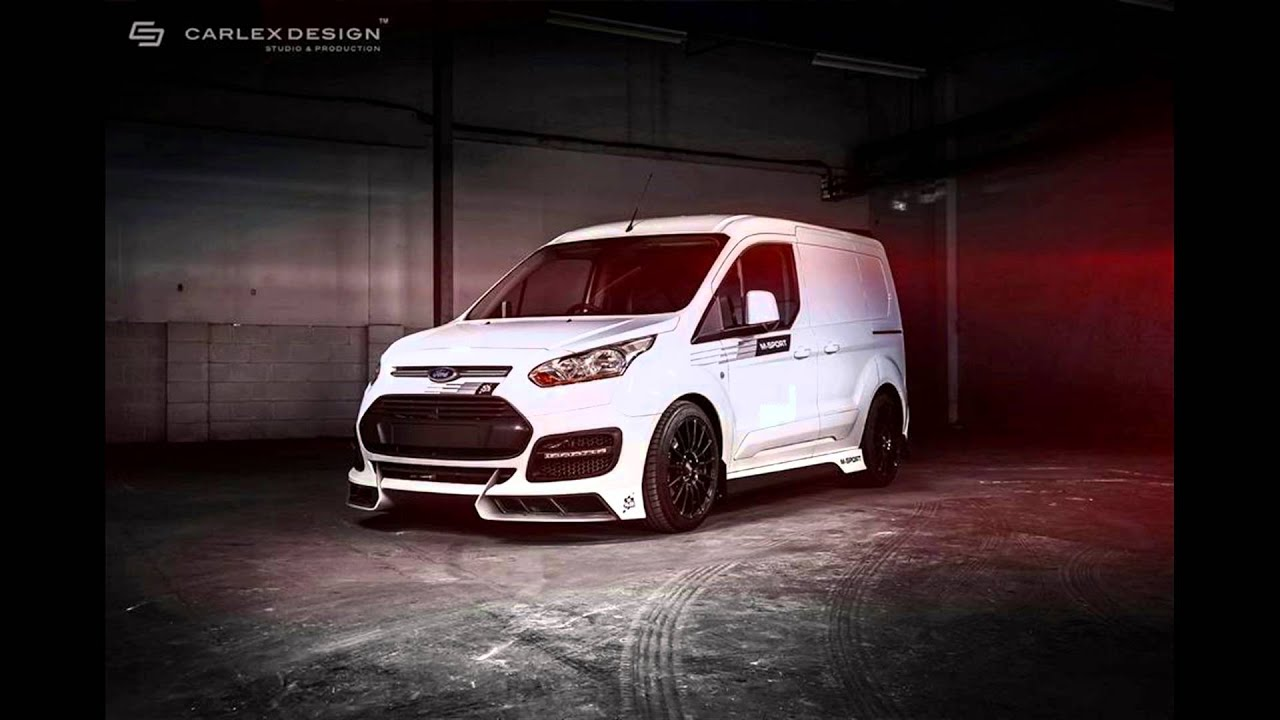 dia show tuning ford transit connect m sport by carlex. Black Bedroom Furniture Sets. Home Design Ideas