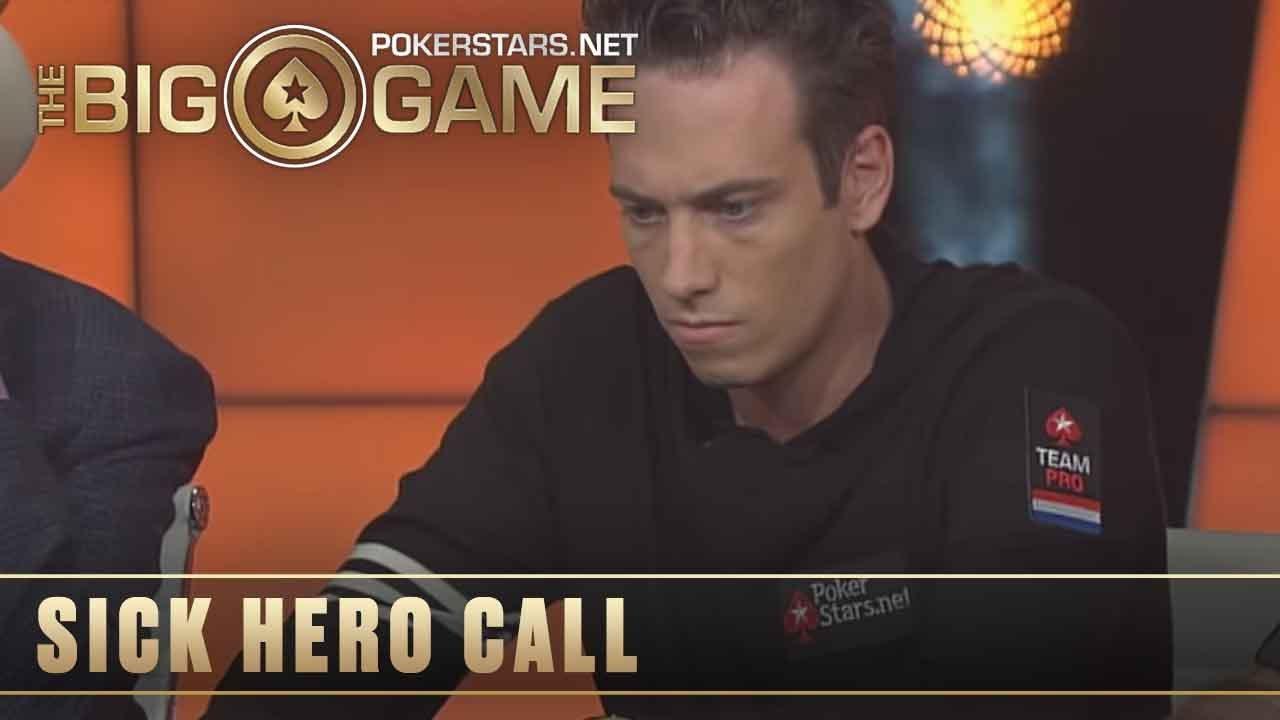 Download The Big Game S1 ♠️ W8, E5 ♠️ Veldhuis HERO CALL against Negreanu ♠️ PokerStars