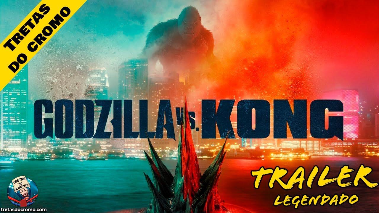 Godzilla vs. Kong – Trailer oficial (Legendado)
