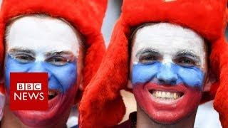 Will Russia still smile after World Cup? - BBC News