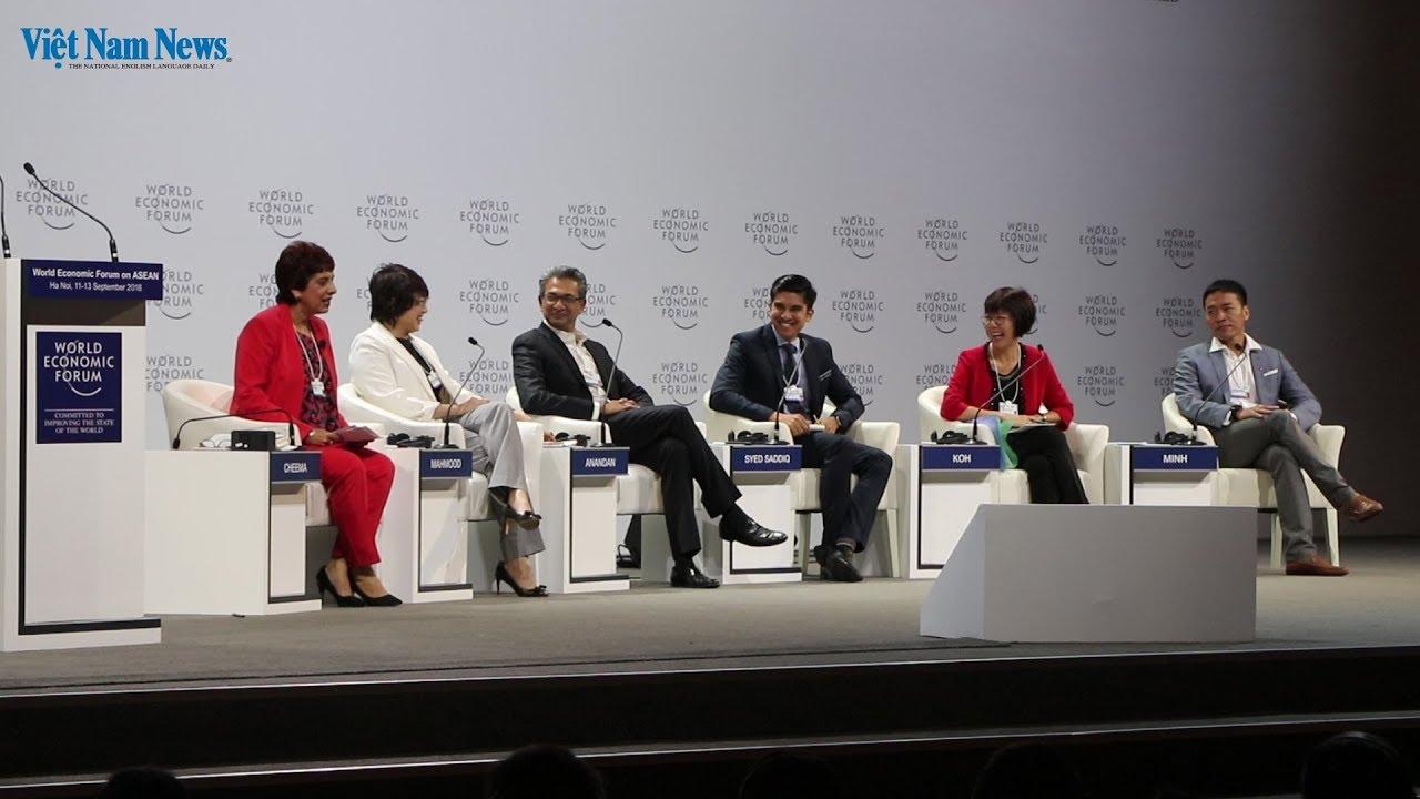 World Economic Forum on ASEAN - September 11-13, 2018 in Hanoi, Vietnam (Opening)